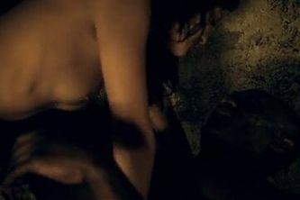 Marisa Ramirez sex scene Spartacus Gods of the Arena S1E1