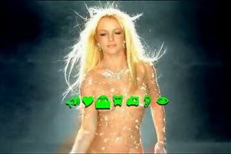 Britney Spears Toxic Sexy Diamond Outfit