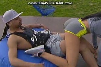 Lap dance in reality show