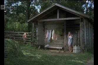 Scene with Leonov Golyy in sauna, naked, daddy bear