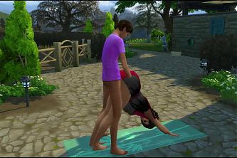 Vaneesa del Rio Yoga Indian webseries Toon