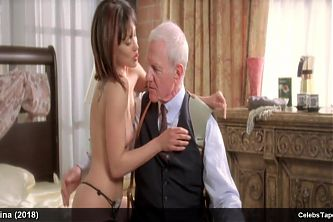 Lisa Catara and Valerie Dillman nude and striptease movie scenes